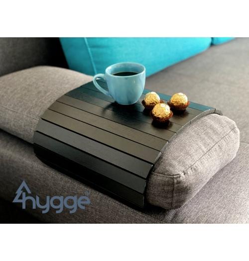 Деревянный столик на диван