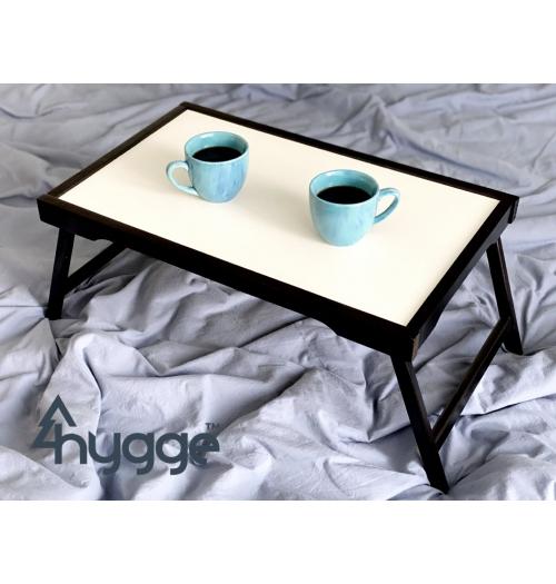 Деревянный столик поднос для завтрака