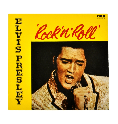 Пластинка виниловая Album Elvis Presley «Rock 'N ' Roll» RCA 1972 Records made in Germany