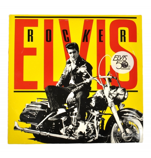 Пластинка Elvis Presley The Rocker, 1984 RCA Corporation.