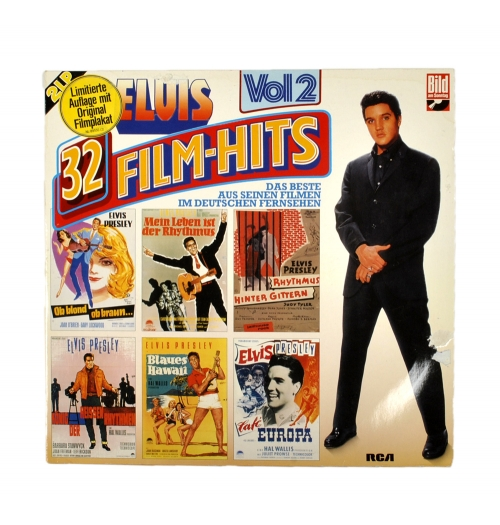 Пластинки виниловые - Allbum Elvis Presley - 32 Film-Hits Vol.2 2LP