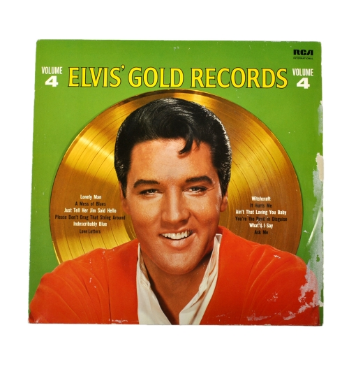 Elvis' Gold Records Volume 4, 1968 год